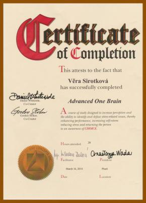 Advanced One Brain - Věra Sirotková