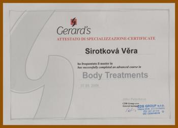Body treatments - Věra Sirotková